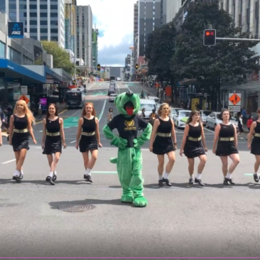 flash mob auckland queen street